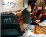 Tom Baker, John Leeson  - Multi signed original autograph not a copy 10281